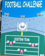 Football Challenge Carnival Game Rentals