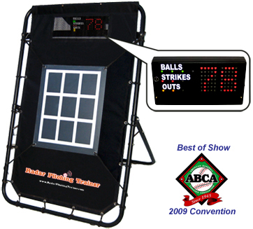 Baseball Radar Speed Pitch Unit for Event Rentals
