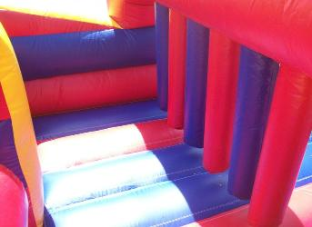 7 Seven Element Obstacle Course Inflatable Rentals