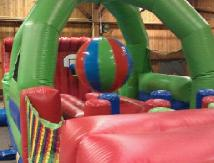 Rent a Large Inflatable Boulder Dash Obstacle Course