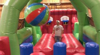 Boulder Dash Obstacle Course Inflatable Rentals Michigan, Indiana, Wisconsin