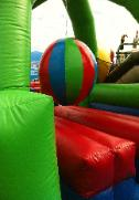 Rent a Boulder Dash Inflatable Obstacle Course in Tennessee, Kentucky, Illinois, Florida