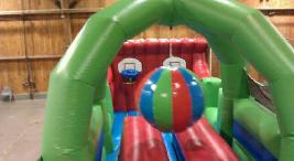 Boulder Dash Obstacle Course for your party or event