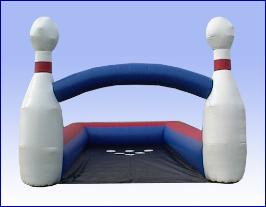 Human Bowling Arena Set up Michigan, Ohio