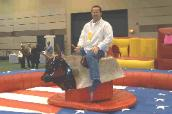 Mechanical Bull for your Fall Party