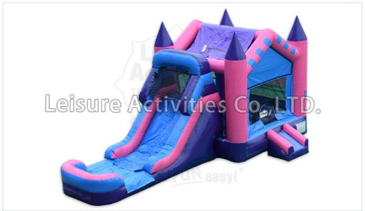Castle Fairytale Combo Moonwalk Bounce Slide Rental Michigan