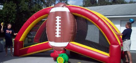 Football Challenge Giant Game Rentals