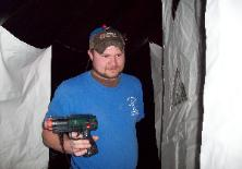 Outdoor Mobile Laser Tag Phasers to Rent for Parties and events