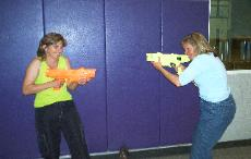 Laser Tag fun in Michigan
