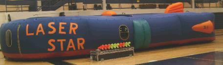 Laser Star Laser Tag Rental set up in Michigan, Ohio, Indiana, Illinois, Iowa