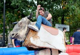 Rent a Mechanical Bull in West Virginia for Events and Trade Shows
