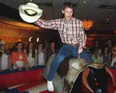 Mechanical Bull Rental in West Virginia for Trade Shows, After Prom, Colleges, School Events