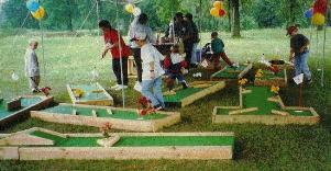 Rent Portable Mini Golf in MI, OH, IN, IL, IA
