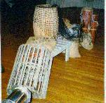 Tropical Decoration Rentals Michigan, Barrels, Fish Net, Lobster Trap, Props