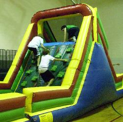 Obstacle Course with Climb and Slide