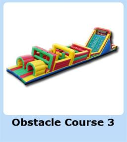 Large 2 Piece Obstacle Course for rent in Michigan, Ohio, IN, IL, TN, KY