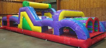 Giant 40 Foot Obstacle Course Rentals
