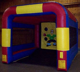 Soccer Shoot Out Inflatable Game Rental MI, OH, IN