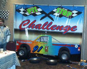 Tire Change Challenge Game Rental
