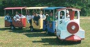 Trackless Train Choo Choo Train Rentals for School Carnivals in MI, OH, IN, IL