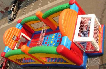 Ultimate Sports combo features Hoops, Twister, Joust and more in one inflatable games