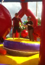NACA Inflatable Wreck My Day Wrecking Ball Game Rentals